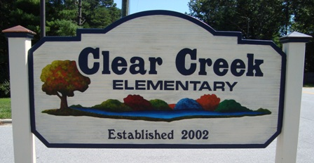 Clear Creek Sign