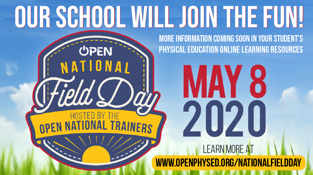 Our School will Join National Field Day May 8, 2020