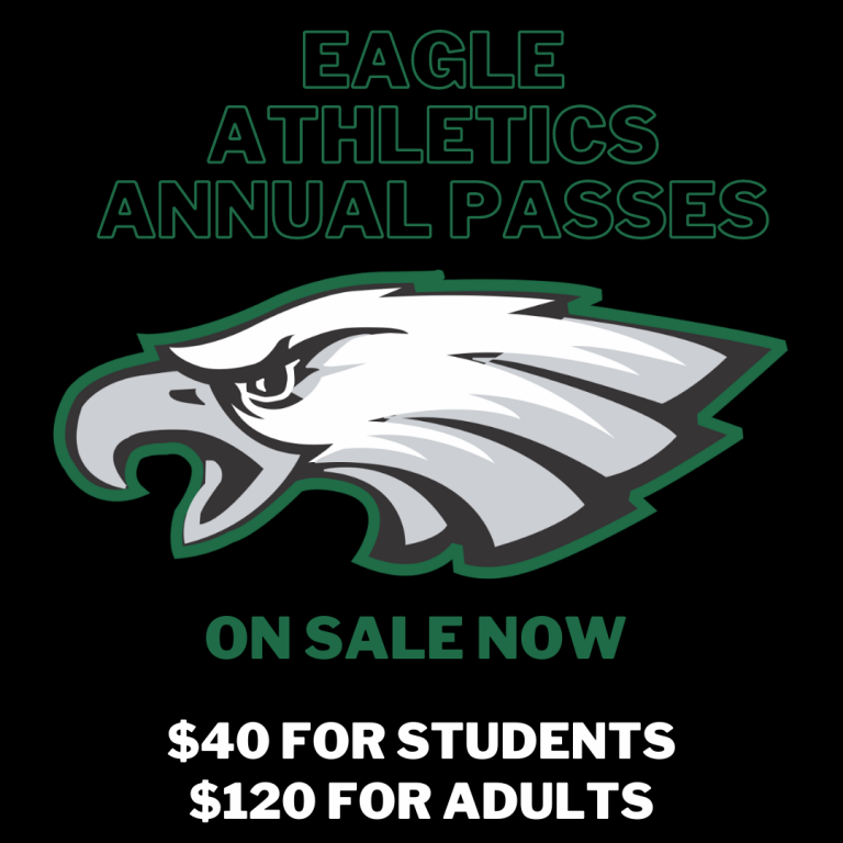 athletics annual pass price information and eagle logo