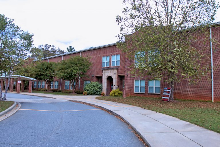Front of Etowah Elementary School