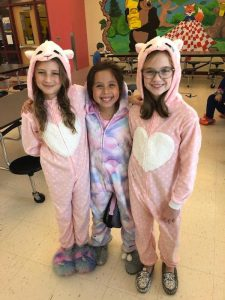 3 Students in Pajamas