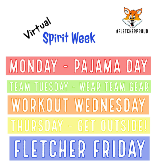 A list of virtual spirit day themes