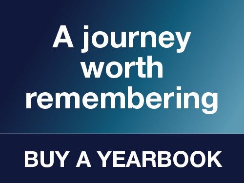 """A journey worth remembering"" Follow this link to Buy a Yearbook"