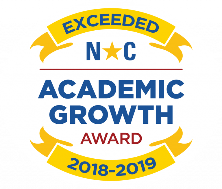 NC Academic Growth Award Logo