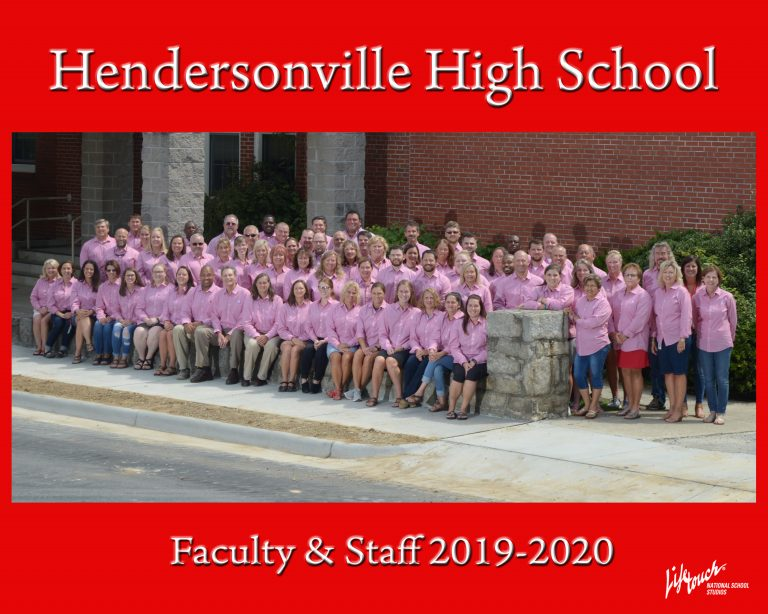 Hendersonville High School Faculty, August 2019