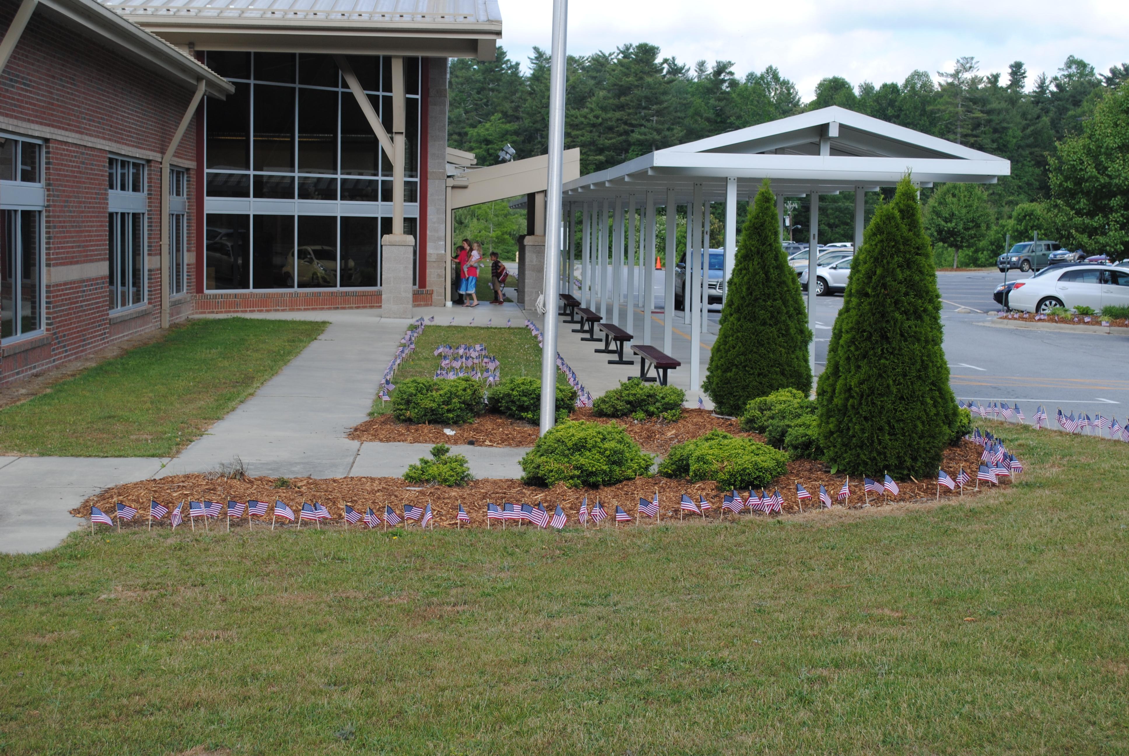 Hillandale Entrance