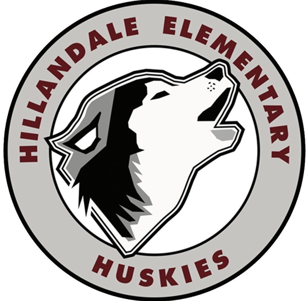 The new Hillandale Husky logo. It was created by Rebecca Miller, our art teacher.