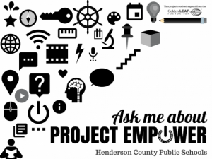Ask me about Project Empower logo