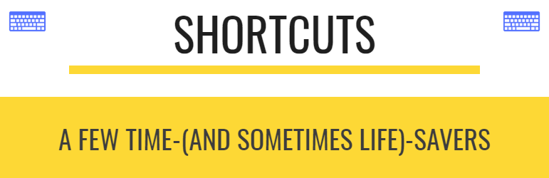 Google Shortcuts logo