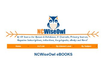 NCWiseOwl eBooks logo heading