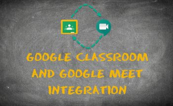 Google Classroom and Meet Integration
