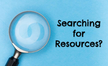 Searching for Resources?