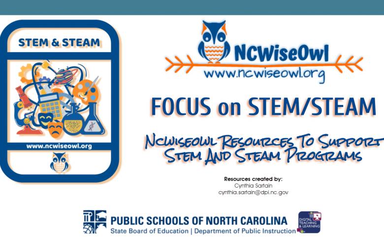 NCWiseOwl Stem and Steam Header