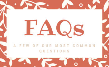 News Post Header with title : FAQs