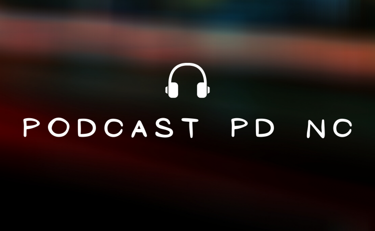 Podcast PD NC cover photo with headphone icon