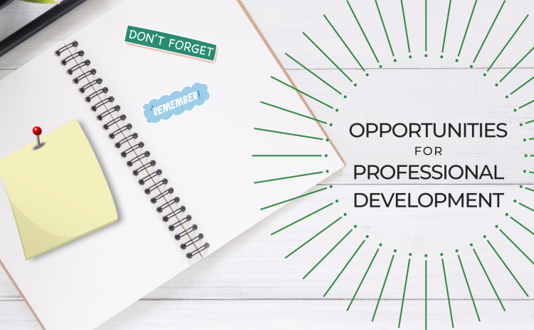 Opportunities for Professional Development Cover Photo