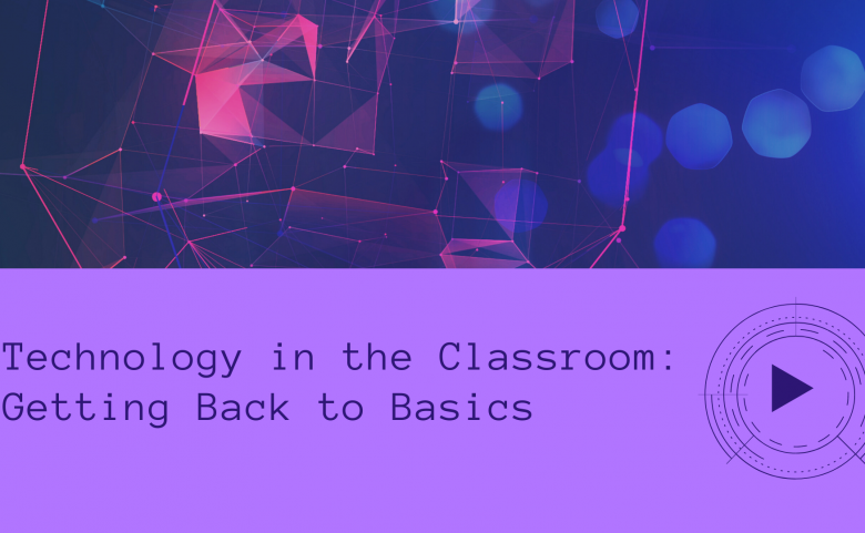 Technology in the Classroom header image