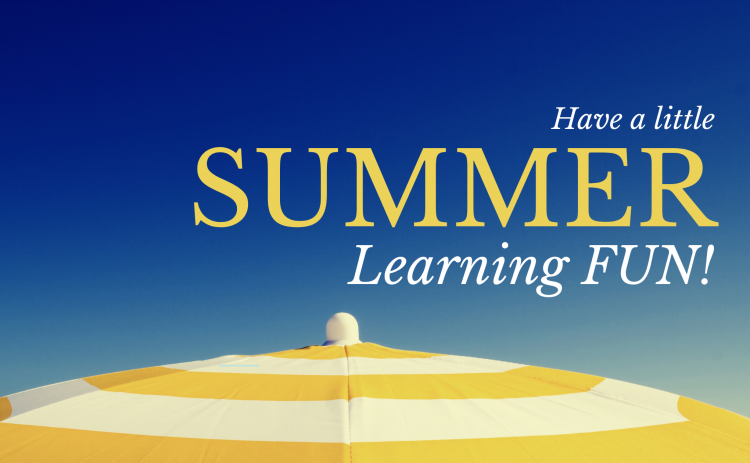 Have a little Summer Learning fun!