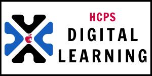 Wide HCPS Digital Learning logo