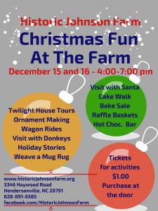 2017 Christmas Fun at Johnson Farm