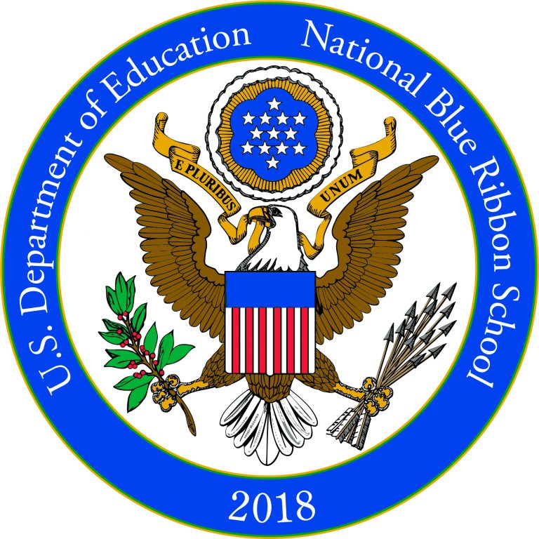 2018 National Blue Ribbon School Logo
