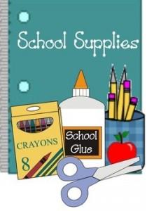 School Supply Lists – Glenn C  Marlow Elementary