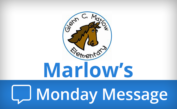 Marlow's Monday Message Banner