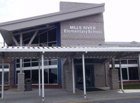 Mills River School Building