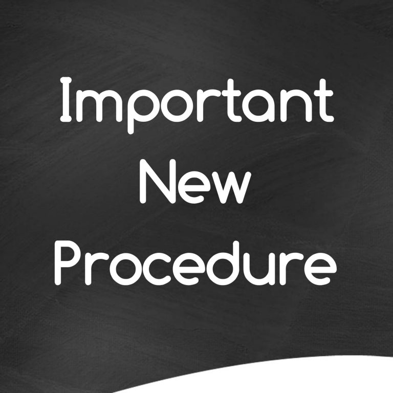 important new procedure