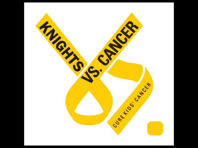Knights vs Cancer logo