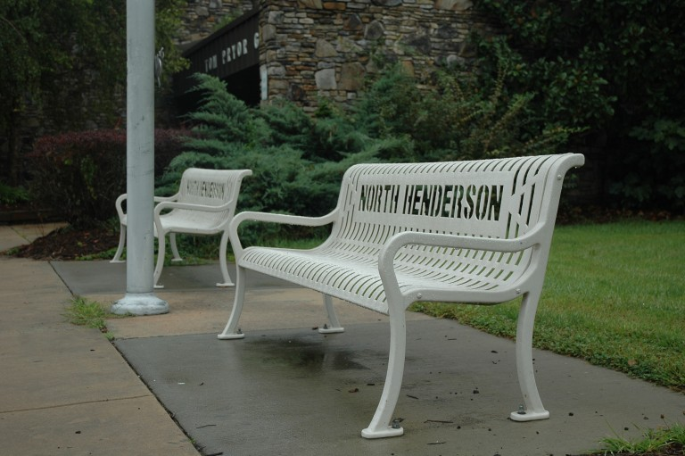 North Henderson benches