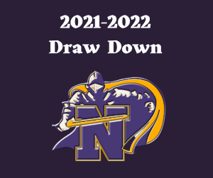 Knights logo with text 2021-2022 Draw Down