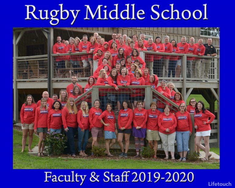 Rugby Staff 2019_20 School Year