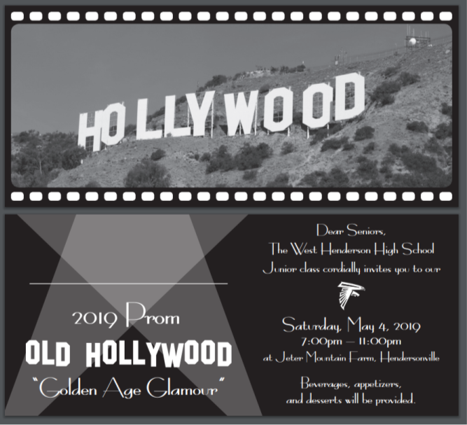 Black and white classic old Hollywood sign