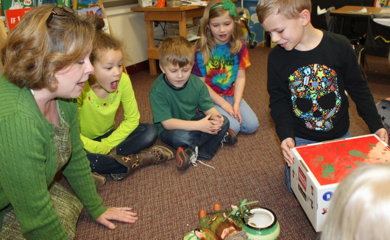 Leprechaun Classroom Visit Ideas ~ A leprechaun visits fletcher elementary henderson county