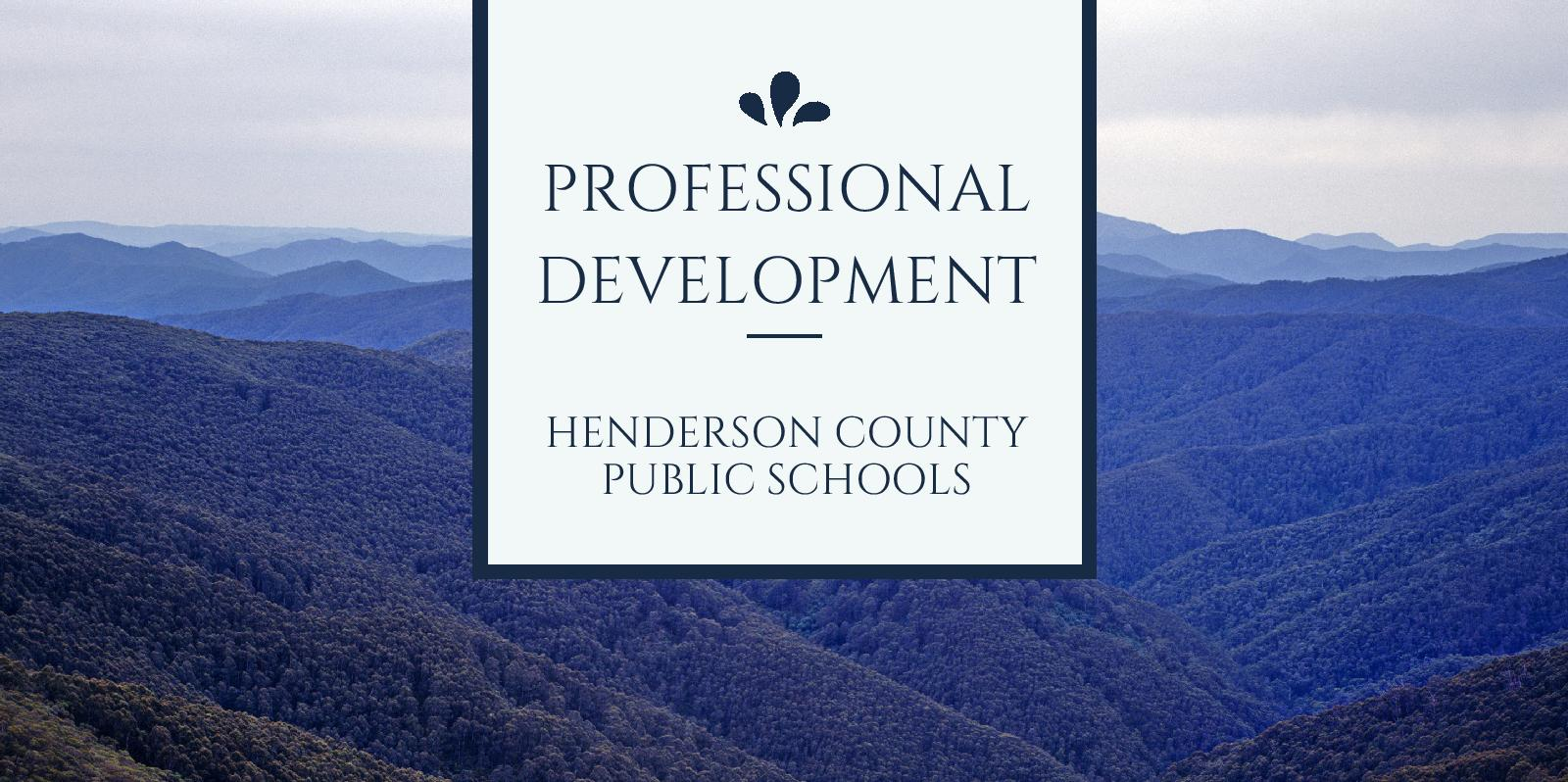 Professional Development HCPS