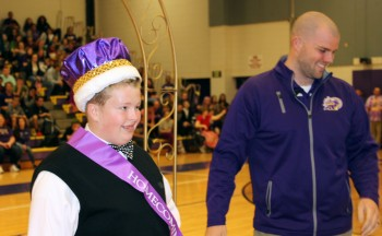 Homecoming King crowned