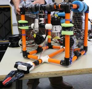 Underwater robot created by Edneyville Buzzbotz