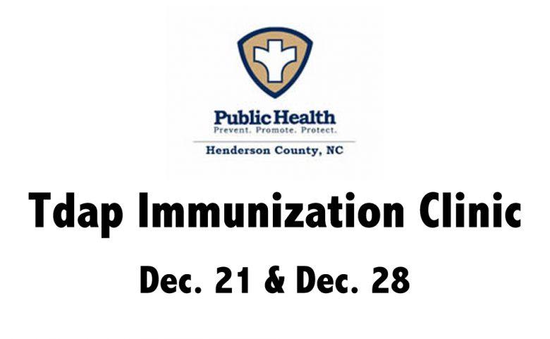 Tdap Immunization Clinic