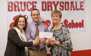 First United Methodist Church donates to Bruce Drysdale