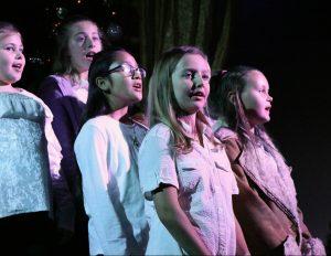 Students singing at Flat Rock Playhouse.