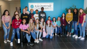 group of students at Raumedic