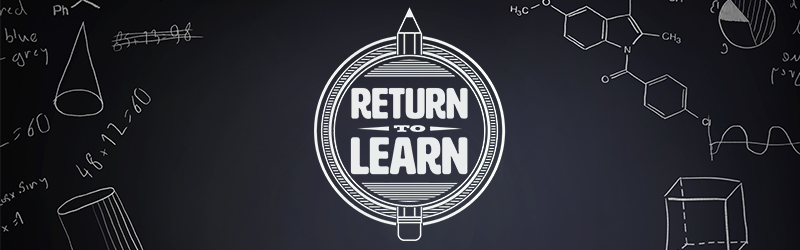 """""""Return to Learn"""" graphic"""