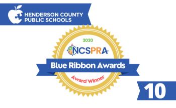 Blue Ribbon Award graphic